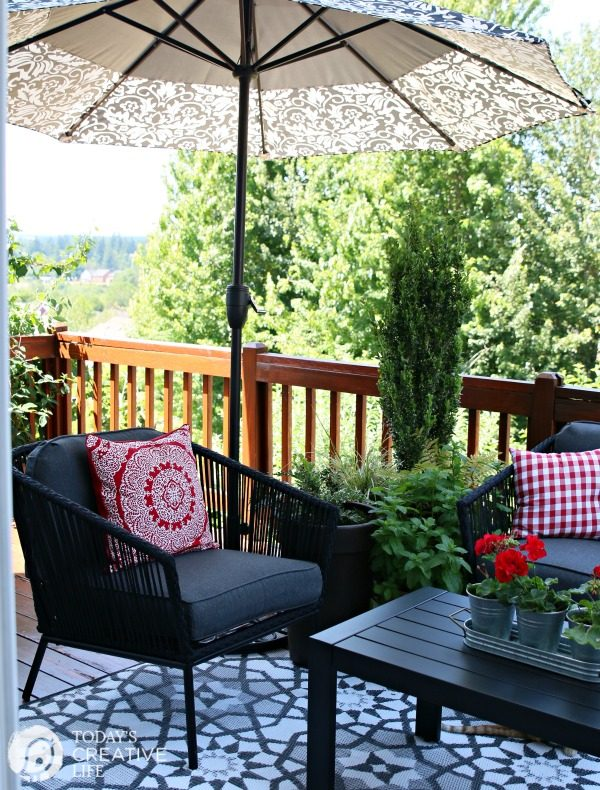 Small Patio Decorating Ideas - My Patio | Today's Creative Life