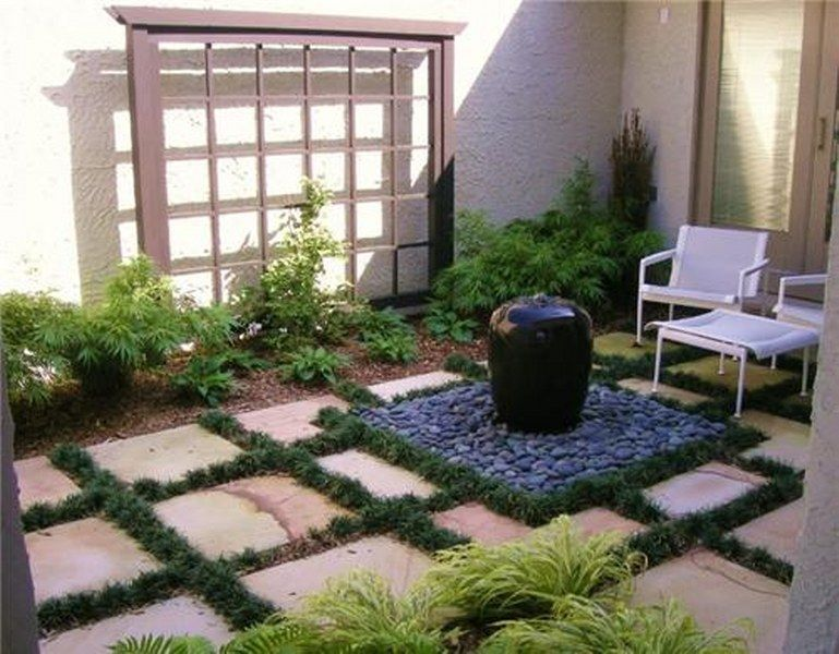 Garden Ideas Various Of Courtyard Garden Design Small Courtyard