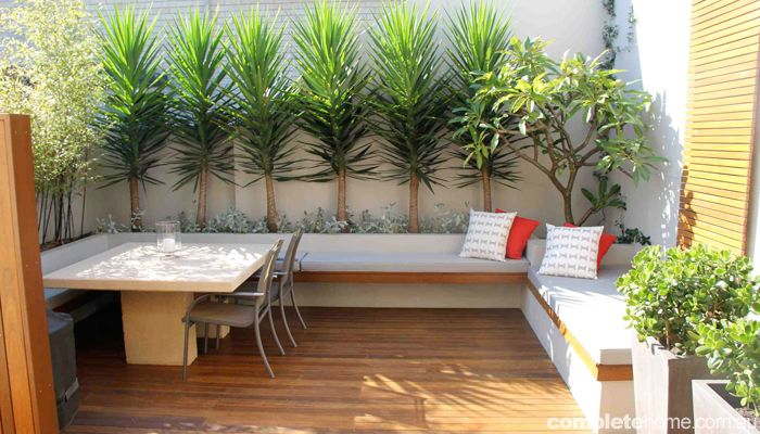 17 Adorable Design Ideas For Your Small Courtyard | House Ideas