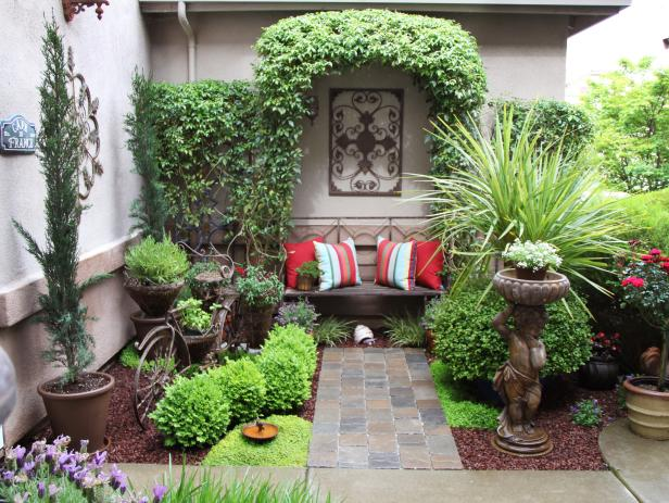 Small Courtyard Garden Design