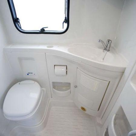 Small Rv Bathroom & Toilet Remodel Ideas 66 | Small rv, Rv bathroom
