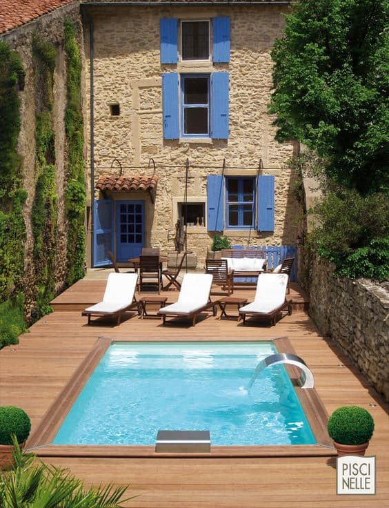 Small Swimming Pools Ideas For Small Backyards