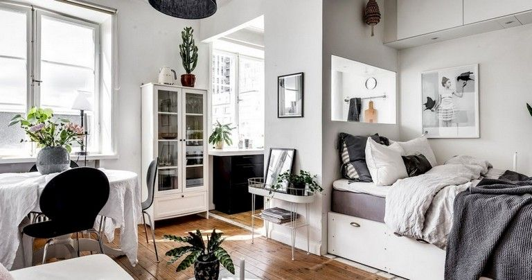 32+ Smart Small Apartment Decorating Ideas on A Budget | Apartment