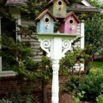Stand Bird House Ideas Garden Ideas