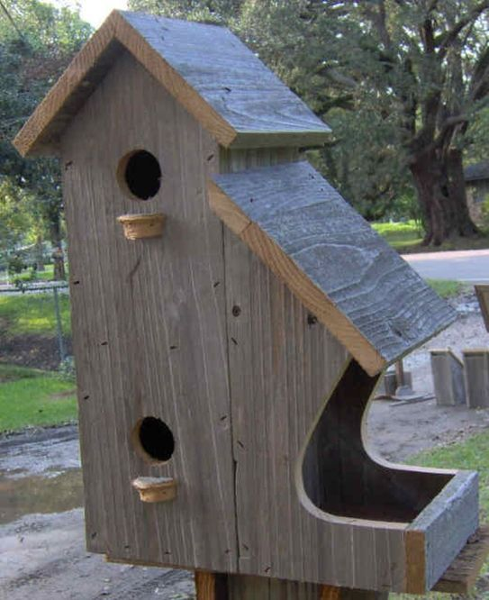 Inspiring Stand Bird House Ideas For Your Garden 1 | Bird houses