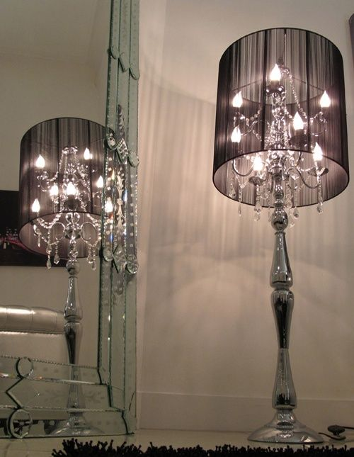 Enhance Your Home With Stylish Floor Lamps | Glamour bedroom