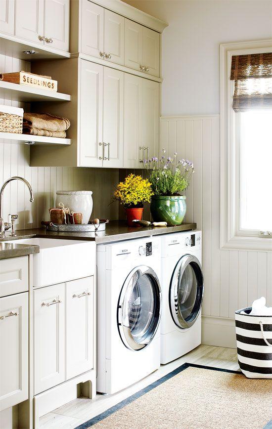 Stylish Laundry Room To Copy