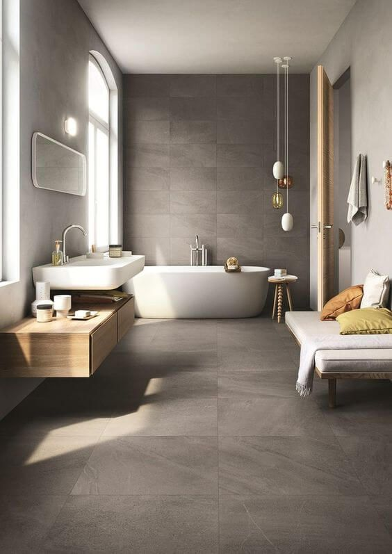 30 Elegant Examples of Modern Bathroom Design For 2018 | Bathroom