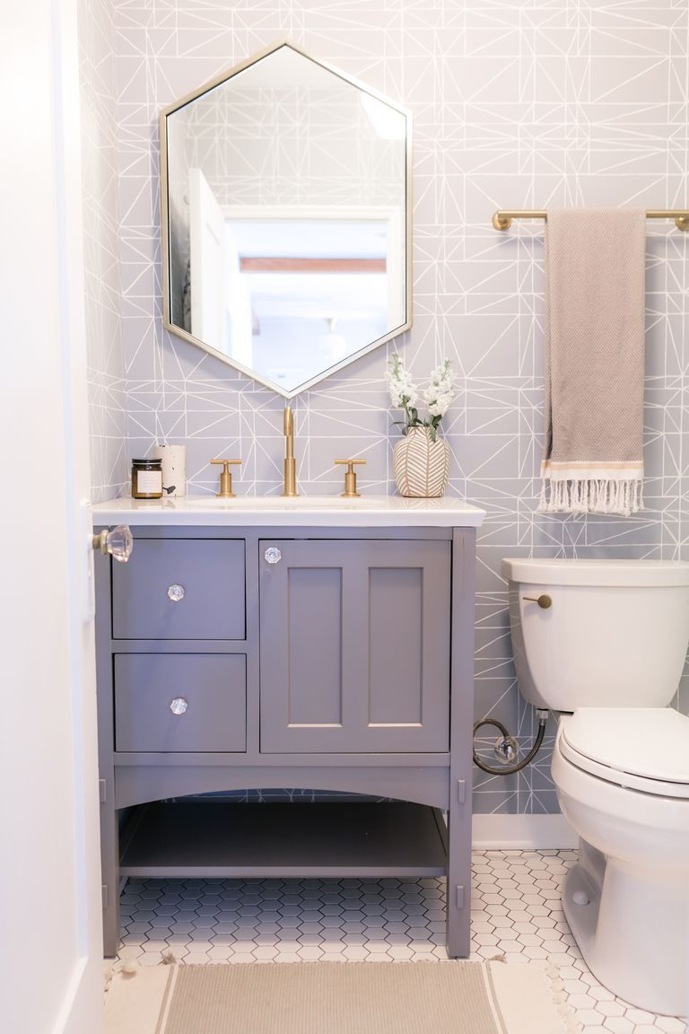 Bold Design Ideas for Small Bathrooms - Small Bathroom Decor