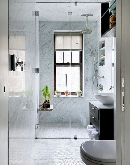 Stylish Modern Small Bathroom Design