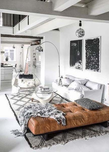 stylish urban suite // man cave // city living // urban life // city