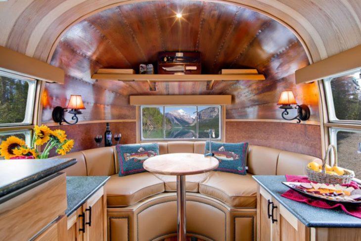 25 Charming Modern Airstream Trailer Interior Ideas For Joyful