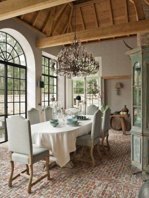46 Top French Country Dining Room Design | French Country | French