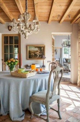 Top French Country Dining Room Design27 | Dining Room in 2019