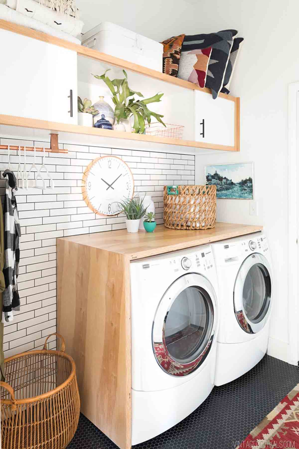 20 Laundry Room Storage and Organization Ideas - How To Organize