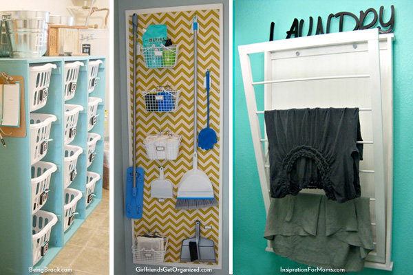 Laundry Room | Organization Ideas | HouseLogic