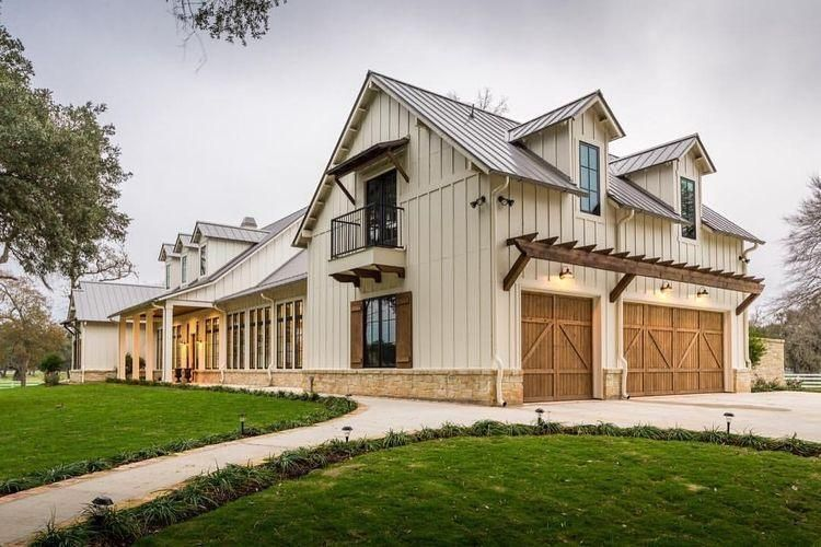 Top Modern Farmhouse Exterior Design Ideas 26 in 2019   House plans