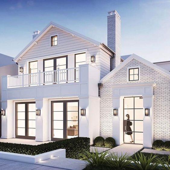 40 Best Modern Farmhouse Exterior Design Ideas -