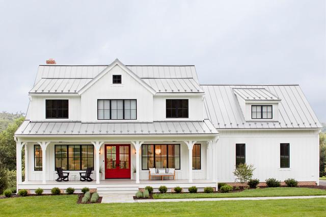 Modern Farmhouse - Farmhouse - Exterior - Baltimore - by Stephanie