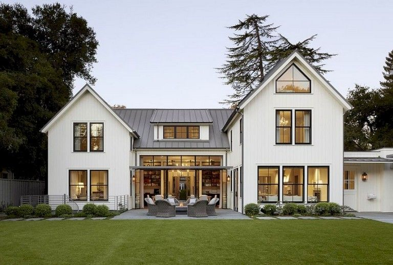 . Top Modern Farmhouse Exterior Design Ideas   savillefurniture