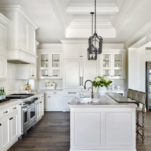 75 Most Popular Traditional L-Shaped Kitchen Design Ideas for 2019