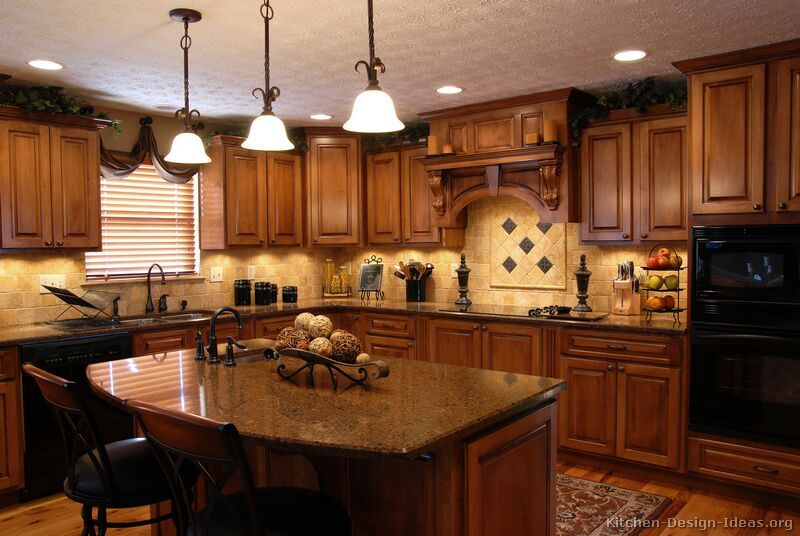 Traditional Kitchen Design Ideas | Home decorating | Maple kitchen