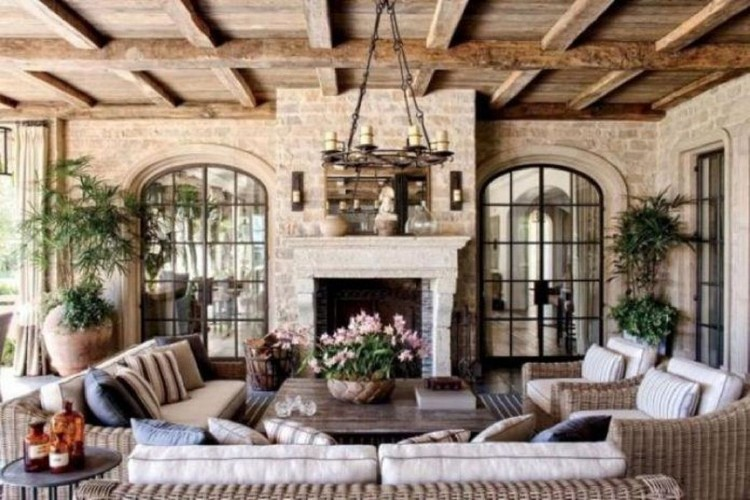 40 Best Unordinary French Country Patio That Make Your Flat Look Great