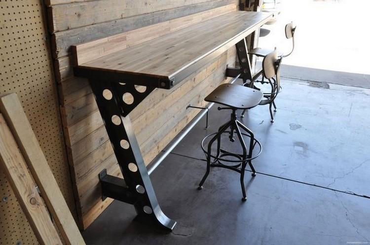 Vintage Wood Industrial Furniture Design Ideas 20 - HomeKemiri.com