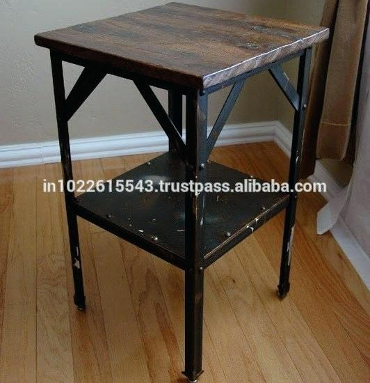 Vintage Industrial Furniture Cheap Vintage Industrial Crank Table 2