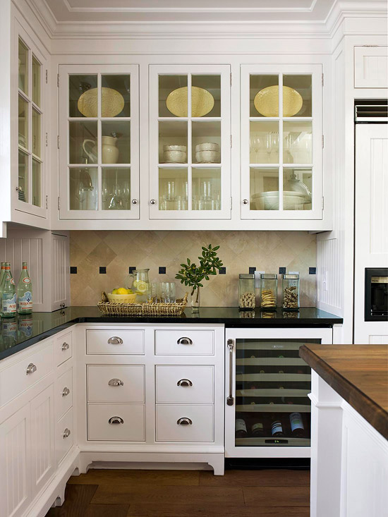 White kitchen cabinet design ideas - Kitchen Design