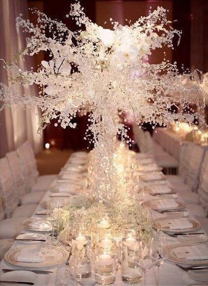48 Lovely Winter Wedding Decoration Ideas Budget - ABCHOMY