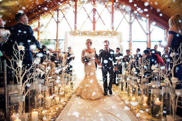 Spectacular Winter Wedding Decoration Ideas u2013 Candy Cake Weddings