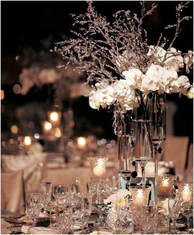 40 Stunning Winter Wedding Centerpiece Ideas | Deer Pearl Flowers