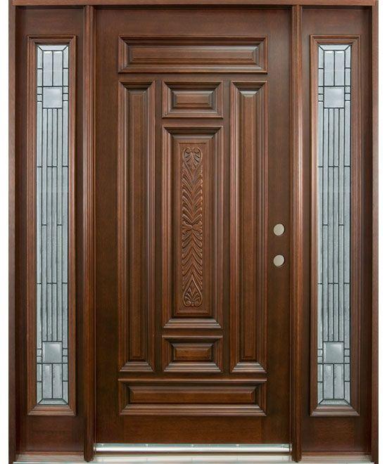 doors | Hand Carved Collection Solid Wood Entry Door | doors | Wood