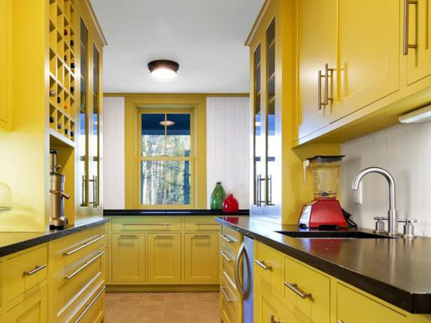Yellow Paint for Kitchens: Pictures, Ideas & Tips From HGTV | HGTV