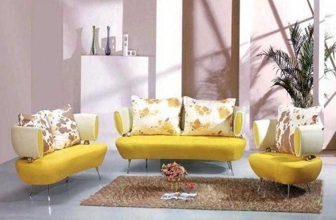 Unique Beautiful Inspiring Yellow Sofas Perfect Living Room
