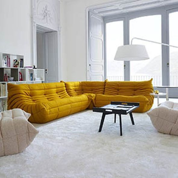 Inspiring Yellow Sofas To Perfect Living Room Color Schemes 148 in