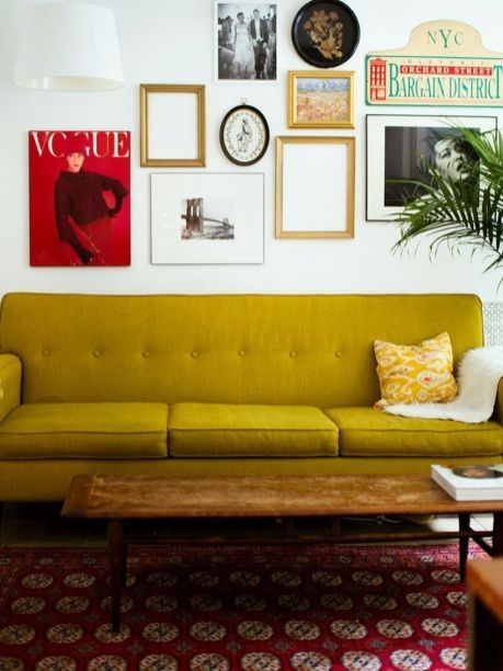 150 Inspiring Yellow Sofas to Perfect Living Room Color Schemes