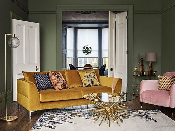50+ Finding Inspiring Yellow Sofas to Perfect Living Room Online