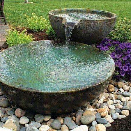 Zen Water Fountain Ideas For Garden Landscaping 4 | Gardens | Small