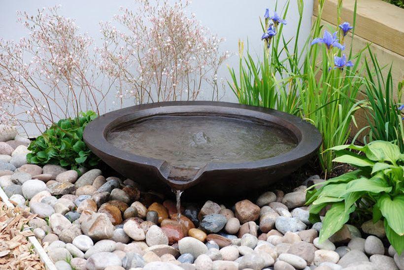 Zen Water Fountain Ideas For Garden Landscaping 8 | Garden | Yard