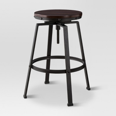 Lewiston Adjustable Swivel Barstool Bronze - Threshold™ : Target