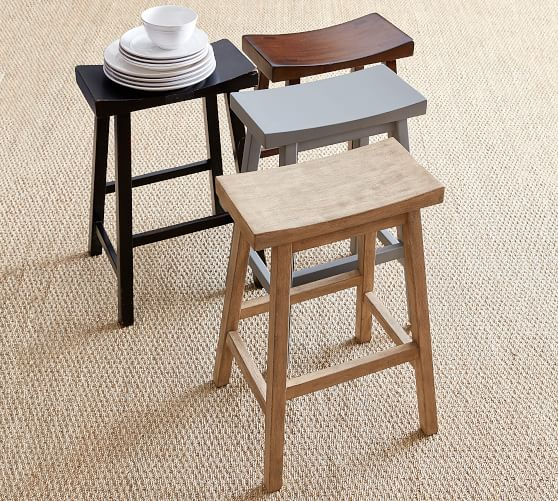 Tibetan Bar Stool | Pottery Barn