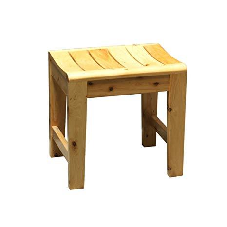 Amazon.com: HLYT-0909 Shower/Bath Stools Wooden Shower Seat Stool