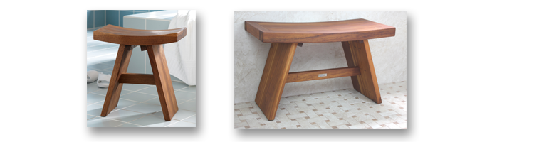 Bath Stool For More Comfort In The