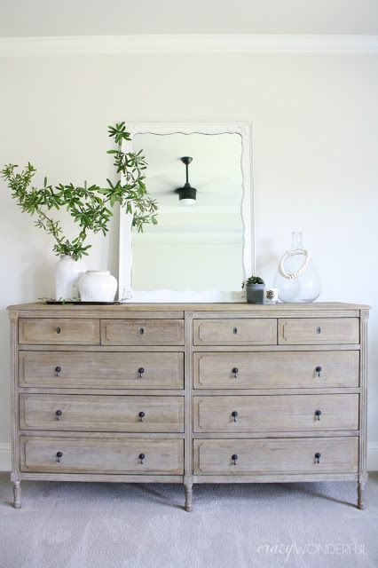 our bedroom dresser | Foxwood Cove | Bedroom, Bedroom dressers
