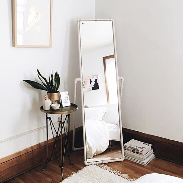 cute little corner | bedroom mirror, home inspiration, house, living
