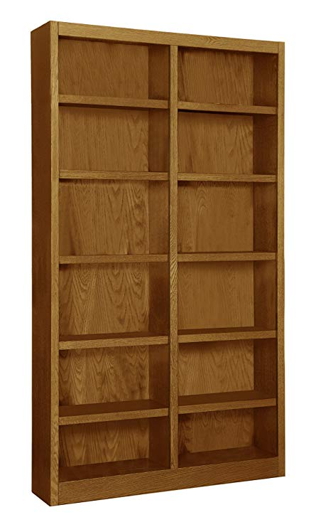 Amazon.com: Wooden Bookshelves Double Wide 84