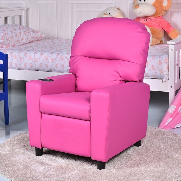 Shop Gymax Kids Armchair Recliner Children's Furniture Sofa Seat
