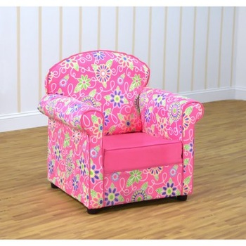 Kids Playroom And Bedroom Furniture Kids Upholstered Chair High Back